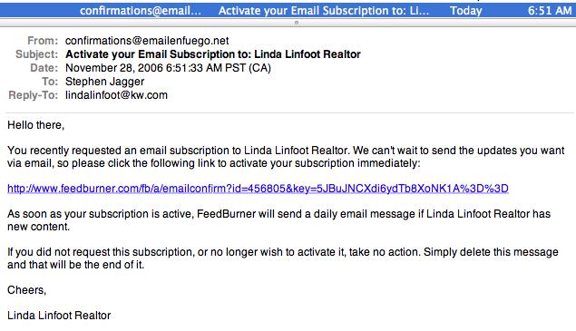 feedburner email