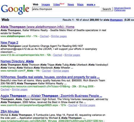 google yourself realtor