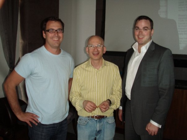 michael jagger and stephen jagger with seth godin