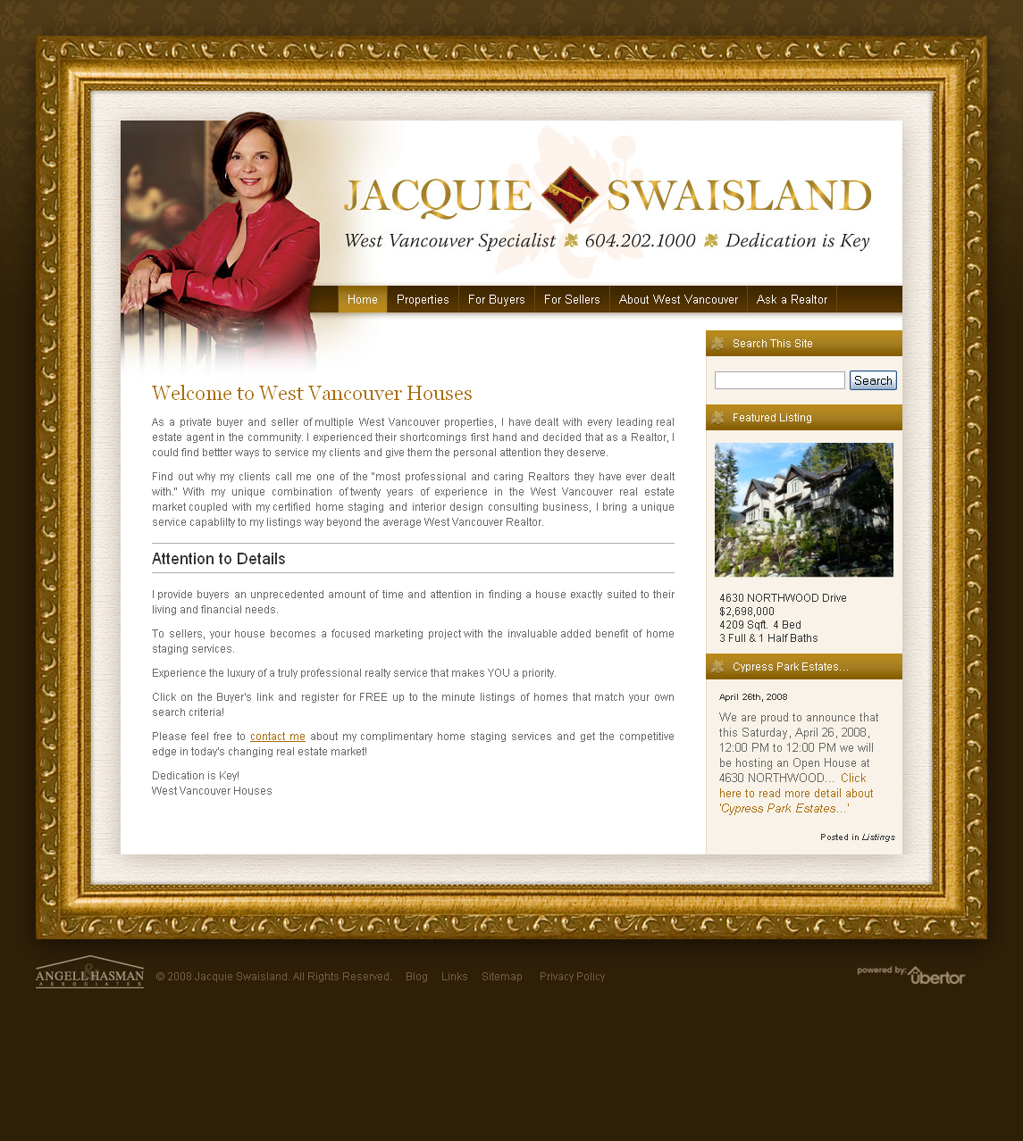 Custom Realtor Websites