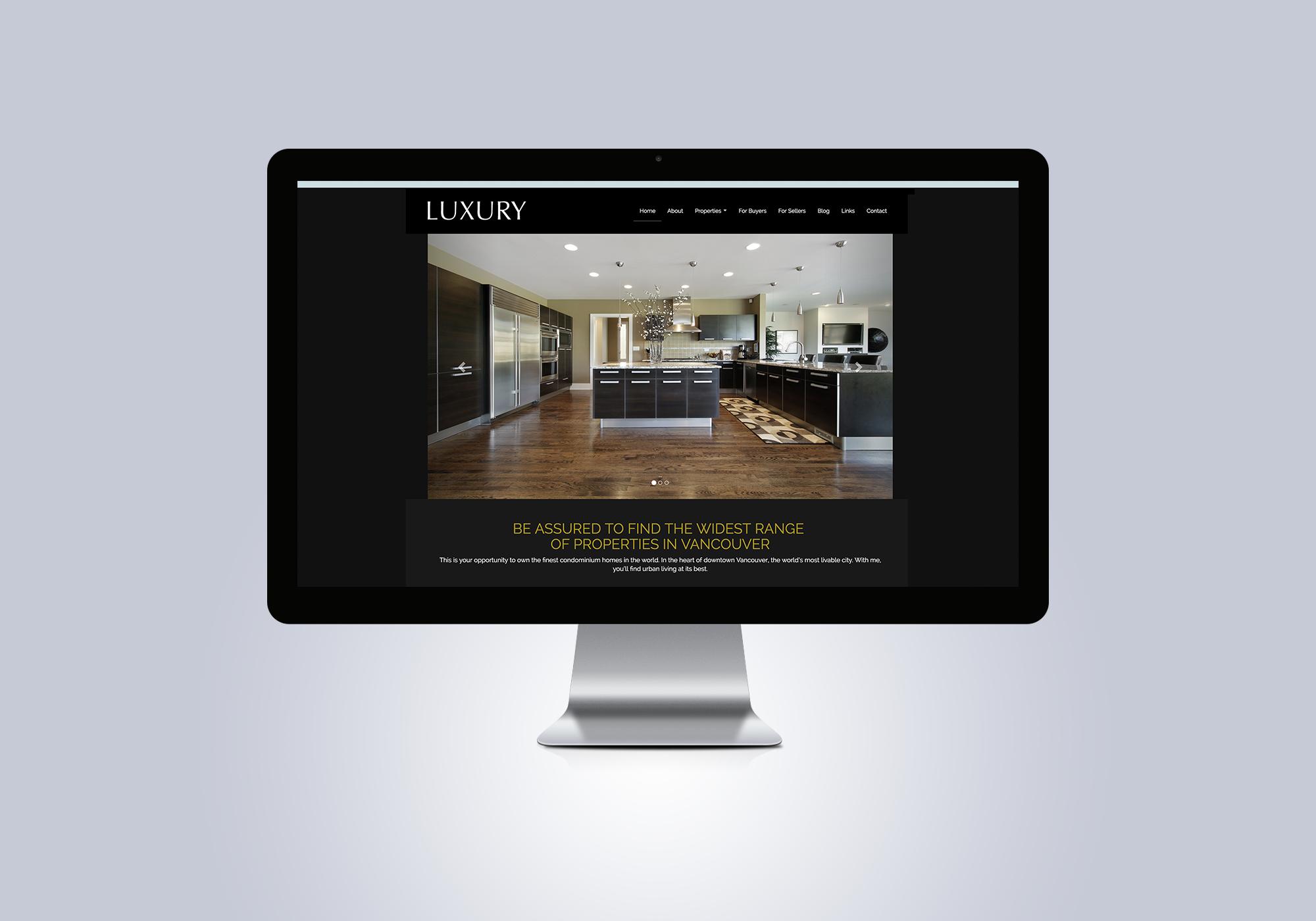 Ubertor Luxury Responsive Template Wide Screen Banner