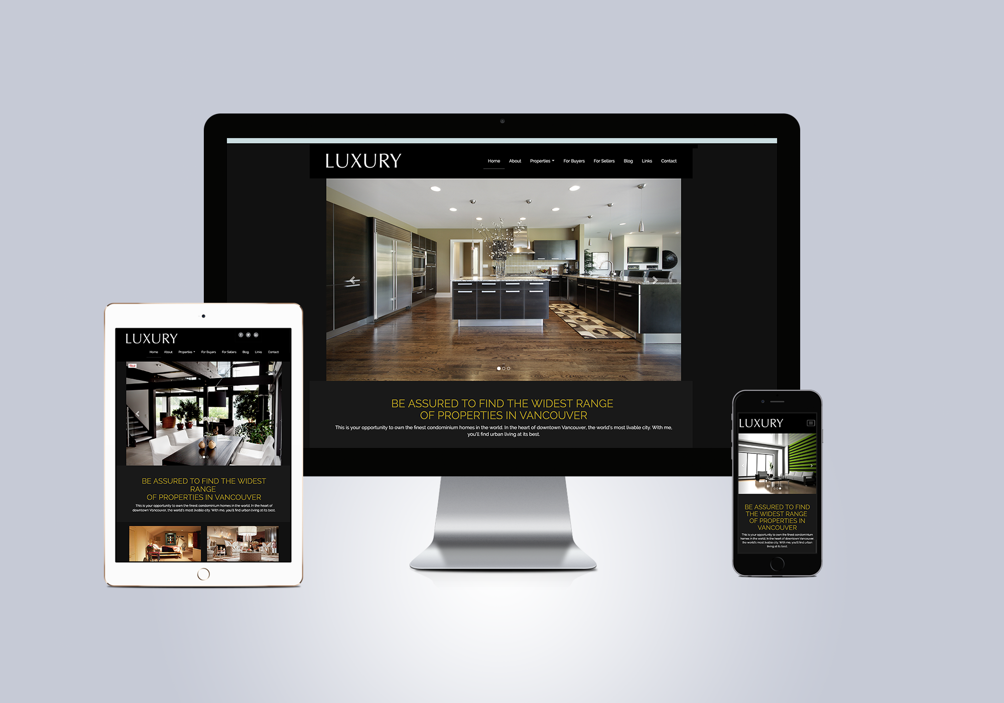 Ubertor Luxury Responsive Template for Real Estate Websites